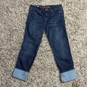 JOE'S Jeans Cool Off Clean Cuff Crop